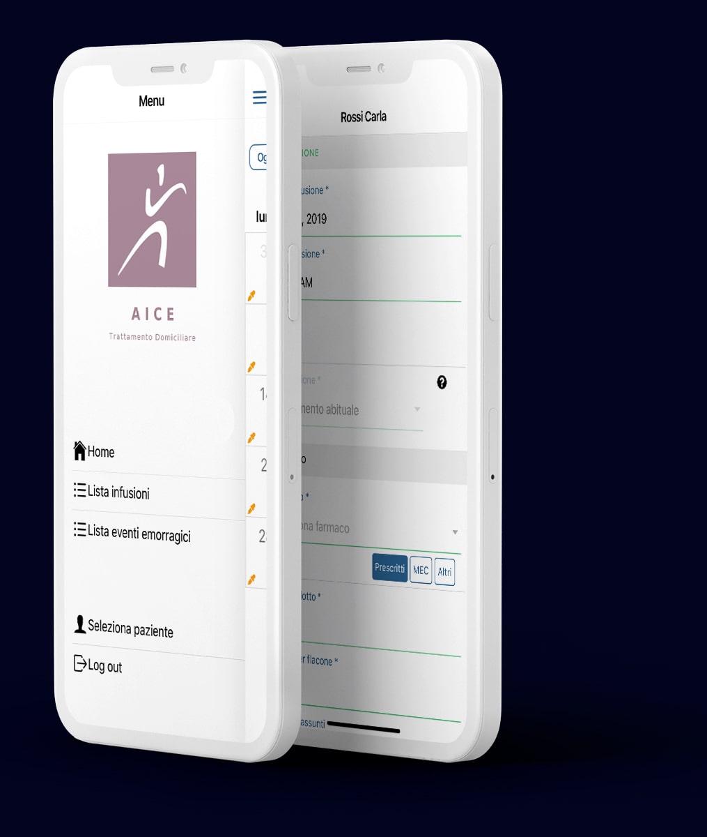 Jupitech - AICE App Trattamento Domiciliare